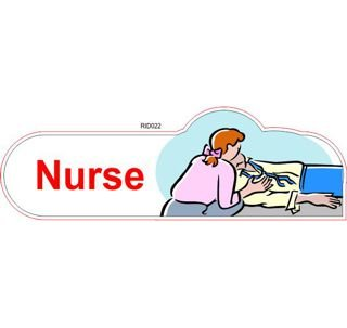 Nurse ID sign