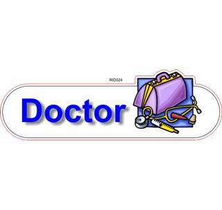 Doctor ID sign