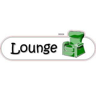 Lounge  room ID sign