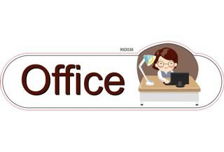 Office ID sign