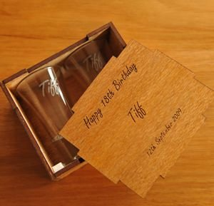 Shot Glass pair in Box
