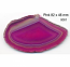 Pink 1A Polished Agate