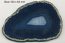 Blue 2A Polished Agate