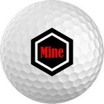 Golf Balls custom printed sets of 12