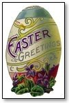 Easter Egg with Easter Greetings 115