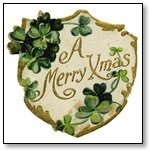 Christmas Plaque Merry Xmas 261