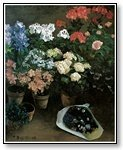 Art Flowers in pots  007