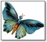 Butterfly blue shaded 099