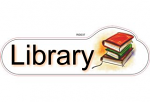 Library ID sign