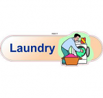 Laundry ID sign