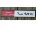 "Meeting Room Sliding Panel Length 300 X 60 mm ( 12"" x 2.3"" )"