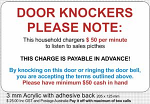 Door Knocker repellent
