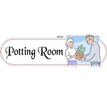 Potting room ID sign