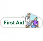 First aid ID sign