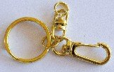 Key Chain (L) Gold or Nickel